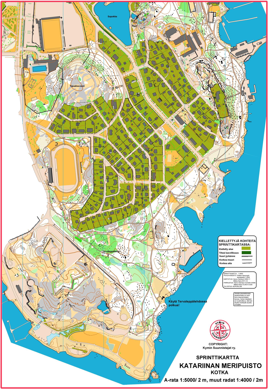 Rannikkorastit 22 5 2012 Katariina May 22nd 2012 Orienteering